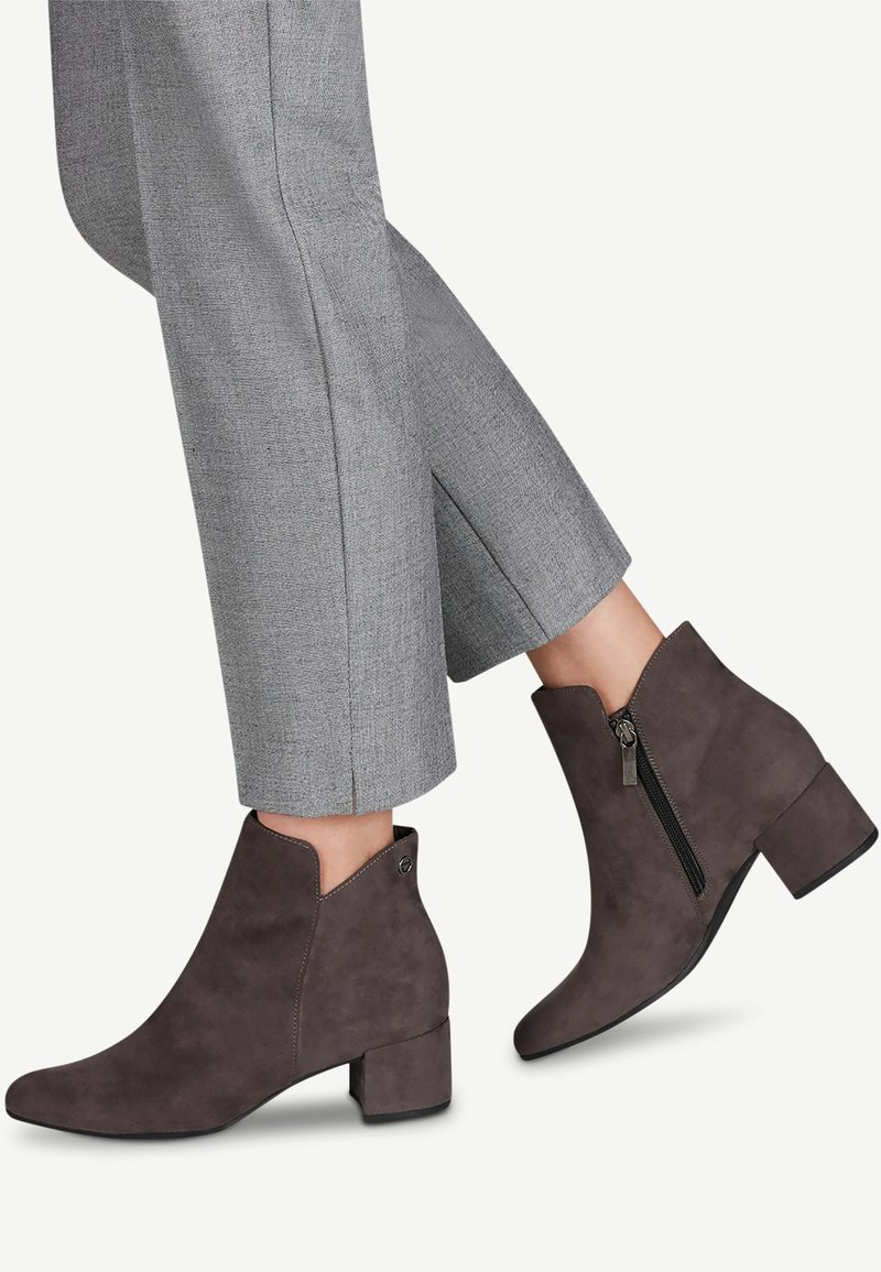 Tamaris - WOMS - Ankle boots - graphite