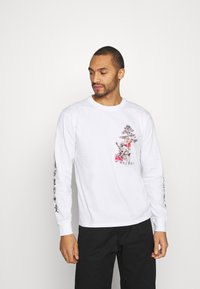 Common Kollectiv - UNISEX OUTCAST TEE - Long sleeved top - white - 0
