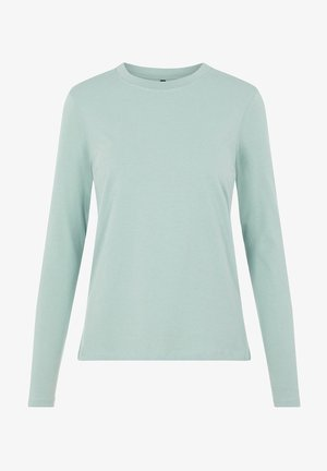 MIT LANGEN ÄRMELN BASIC - Long sleeved top - jadeite