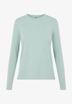 MIT LANGEN ÄRMELN BASIC - Langærmede T-shirts - jadeite