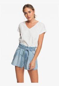 Roxy - SALENTO PLAYA - Denim shorts - light blue - 0