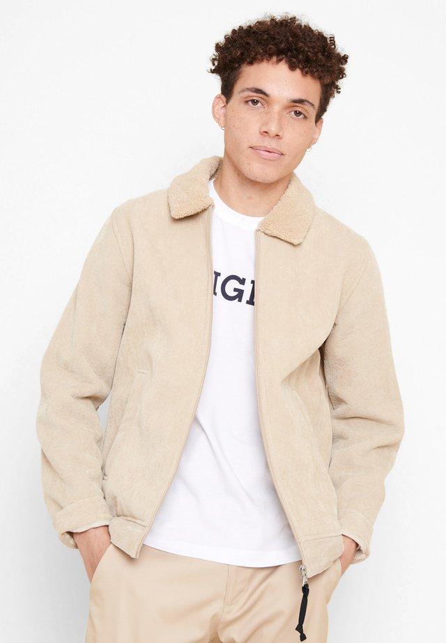 PIGALO - Fleece jacket - beige
