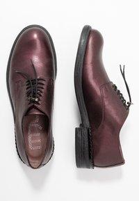 MJUS - Šněrovací boty - wine/plum - 1