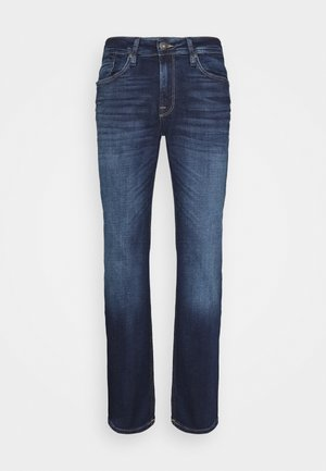 JJICLARK JJORIGINAL - Džíny Straight Fit - blue denim