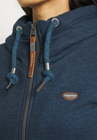 Ragwear - NESKA ZIP - Mikina na zip - denim blue - 4