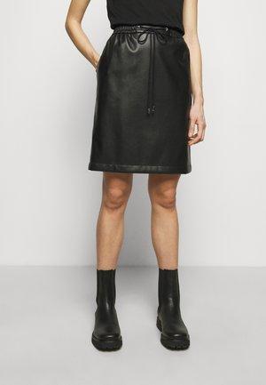 RELANI - Mini skirt - black