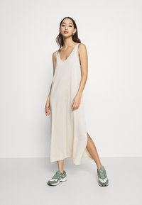 Weekday - ABBY DRESS - Maxi dress - light beige - 0