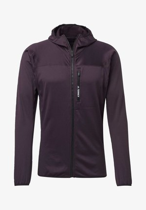 TRACEROCKER HOODED FLEECE JACKET - Fleecejacke - purple