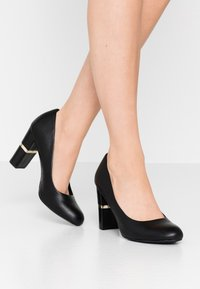 Anna Field - LEATHER PUMPS - High heels - black - 0