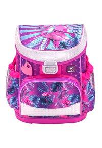 Belmil - SET - School bag - neon pink - 2