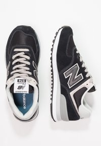 New Balance - WL574 - Sneakersy niskie - black - 2