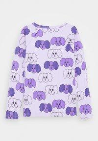Mini Rodini - FLUFFY DOG UNISEX - Long sleeved top - purple - 1