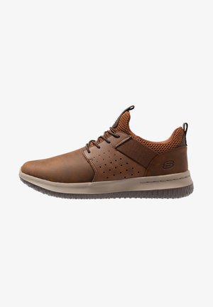 DELSON AXTON - Slip-ons - dark brown