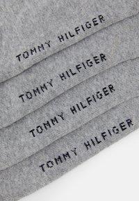 Tommy Hilfiger - MEN ICONIC QUARTER  2 PACK - Socks - grey - 2