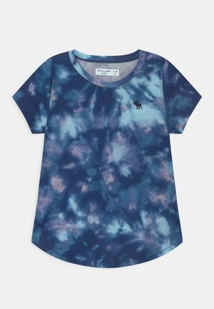 JAN CORE CREW  - Print T-shirt - blue