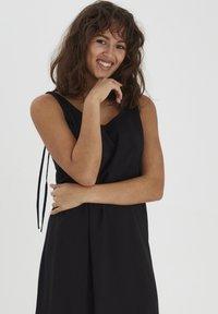 PULZ - NELLY  - Sukienka letnia - black beauty - 2