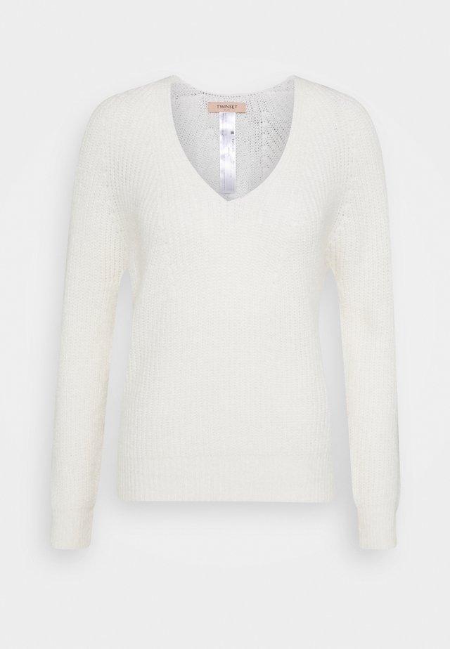 Pullover - bianco panna