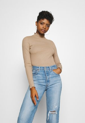 VMWILMA - Long sleeved top - silver mink