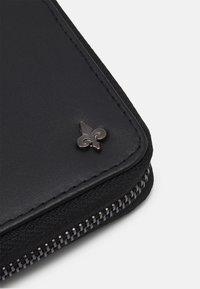 Zign - LEATHER UNISEX - Peněženka - black - 3