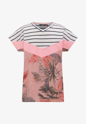 T-shirt print - rose quartz