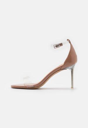ELLA - Sandály na vysokém podpatku - clear