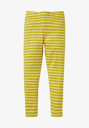 FRÖHLICHE - Leggings - Trousers - maisgelb/naturweiß