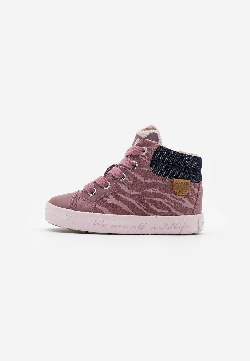Geox - KILWI GIRL - Zapatillas altas - rose smoke