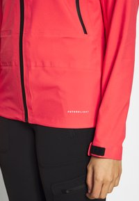 The North Face - WOMENS TENTE JACKET - Hardshell jacket - cayenne red/black - 3