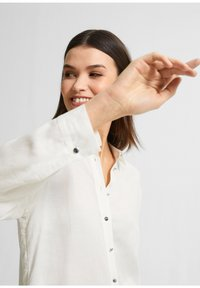 comma - Button-down blouse - white - 3