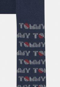Tommy Hilfiger - BABY 2 PACK UNISEX - Leggings - Stockings - dark blue/pink - 3