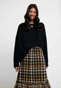 AllSaints - RITA - Long sleeved top - black - 0