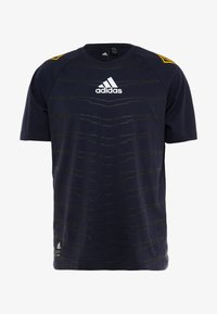 adidas Performance - ID - T-shirt con stampa - legend ink - 4