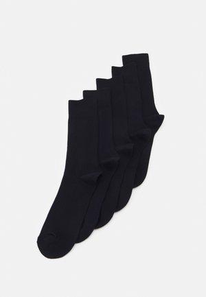 5 PACK - Ponožky - navy