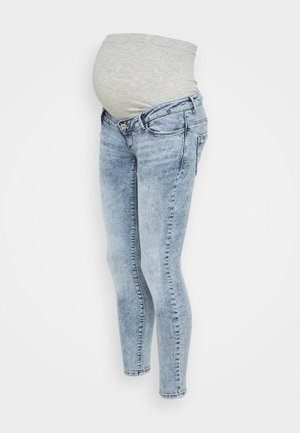 OLMPAOLA LIFE SKINNY - Skinny džíny - light blue denim