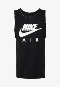 Nike Performance - W NK AIR  - Camiseta de deporte - black/white - 4