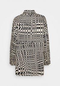 Monki - Button-down blouse - black - 7