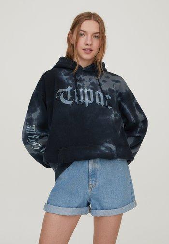 TUPAC - Luvtröja - black