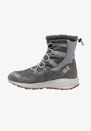 NEVADA TEXAPORE MID - Winter boots - grey/white
