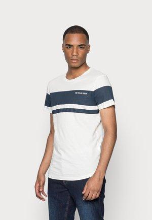 T-shirt print - soft light beige