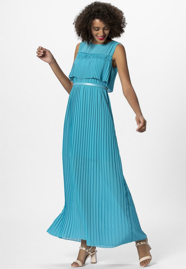 Robe longue - turquoise