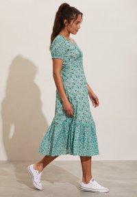 Odd Molly - Jerseyklänning - dusty turquoise - 2