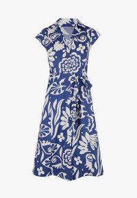 Boden - ROWENA  - Shirt dress - gipfelblau/tropischer garten - 4