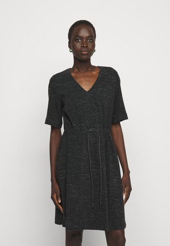 DAMERINO - Jumper dress - black
