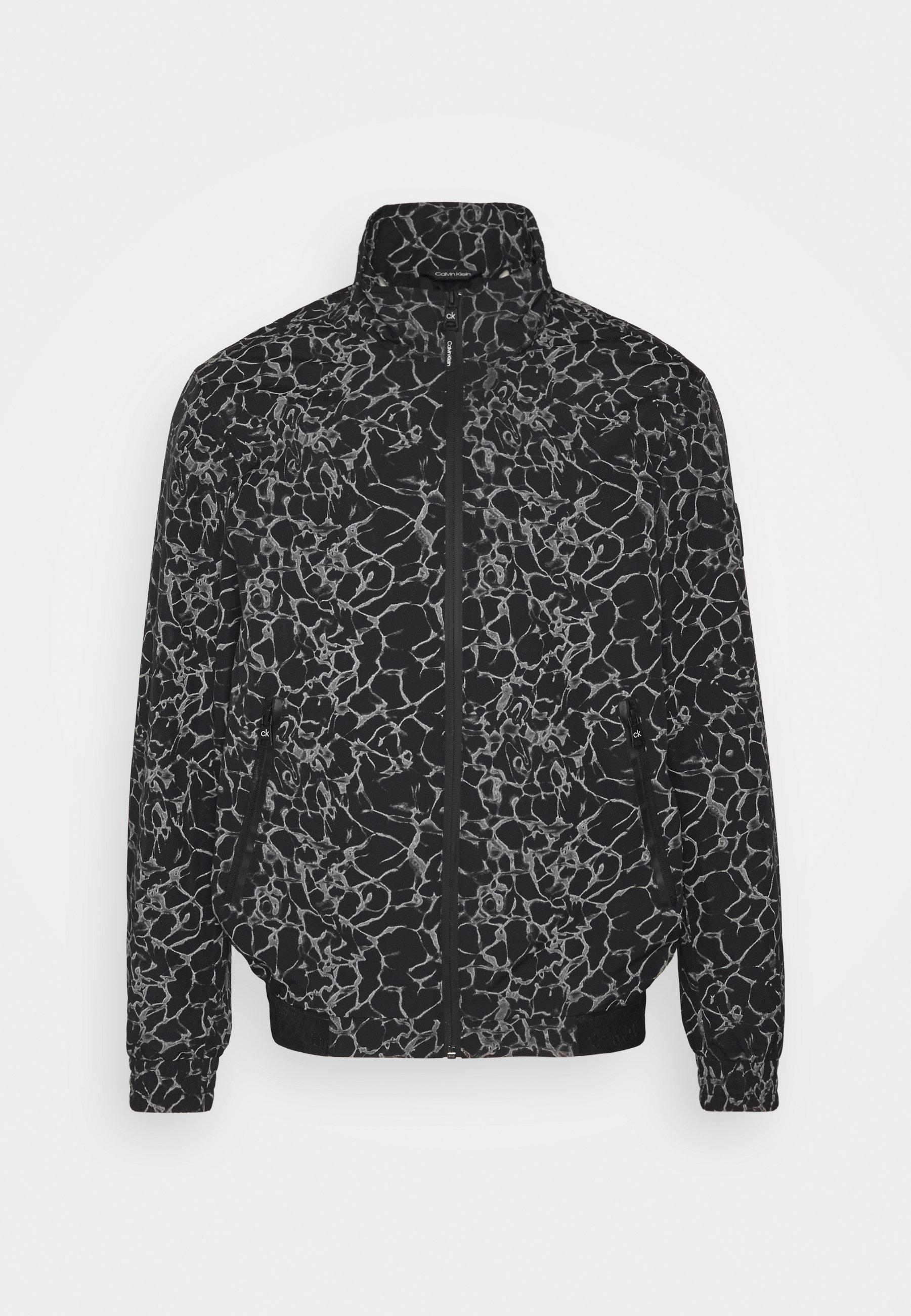 Men REFLECTIVE PRINT BLOUSON - Summer jacket