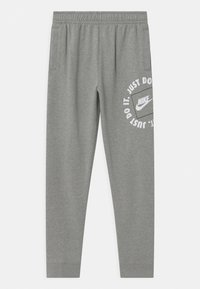 Nike Sportswear - UNISEX - Tracksuit bottoms - dark grey heather - 0