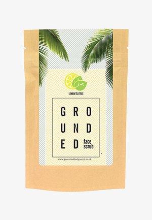 FACE SCRUB 60G - Face scrub - yellow lemon & tea tree