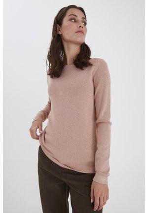 SARA - Sweater - mahogany rose melange