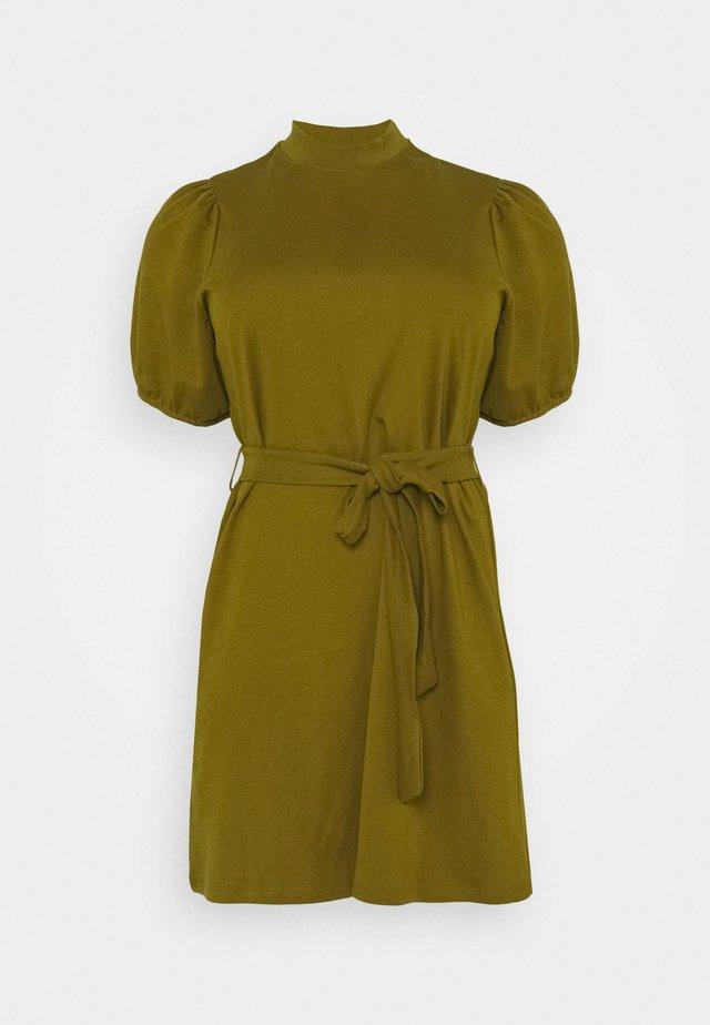 VMFOREST DRESS - Jerseykjole - fir green