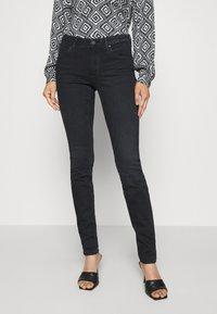 Marc O'Polo DENIM - ALVA - Jeans Skinny Fit - black wash - 0