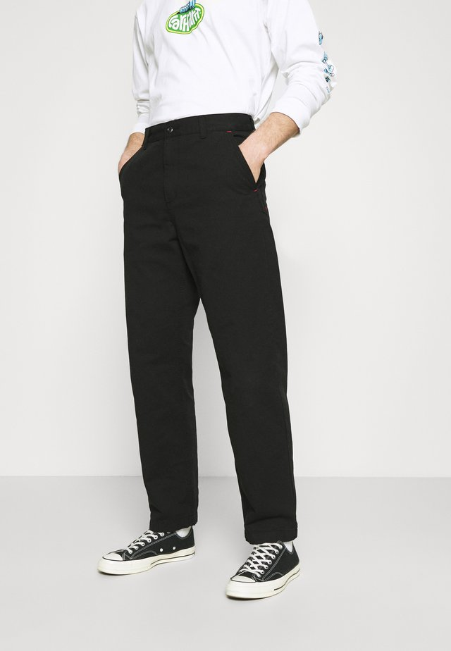 WESLEY PANT NEWCOMB - Jeans baggy - black